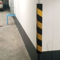 Reflective Wall Corner Guards / Garage pillar padding.